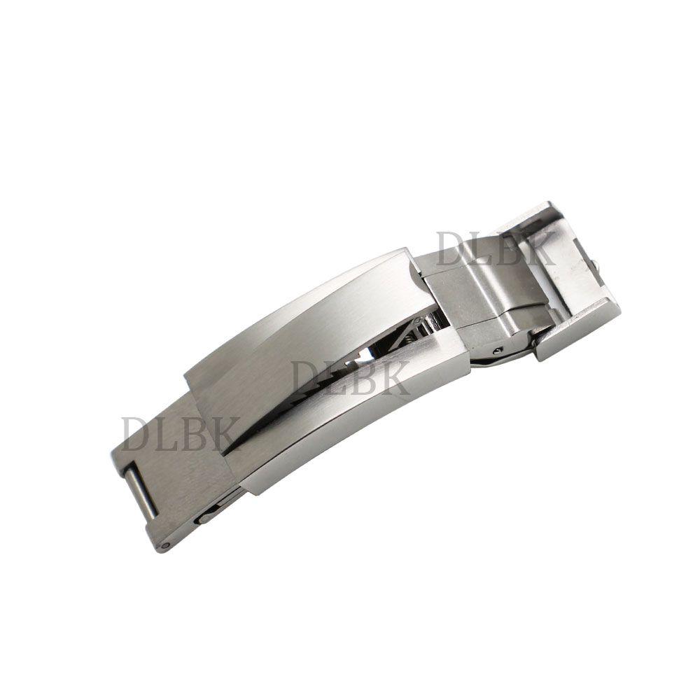 9mm X 9mm Nuovo cinturino in acciaio inossidabile di alta qualità cinturino con cinturino fibbia per la fascia Rolex