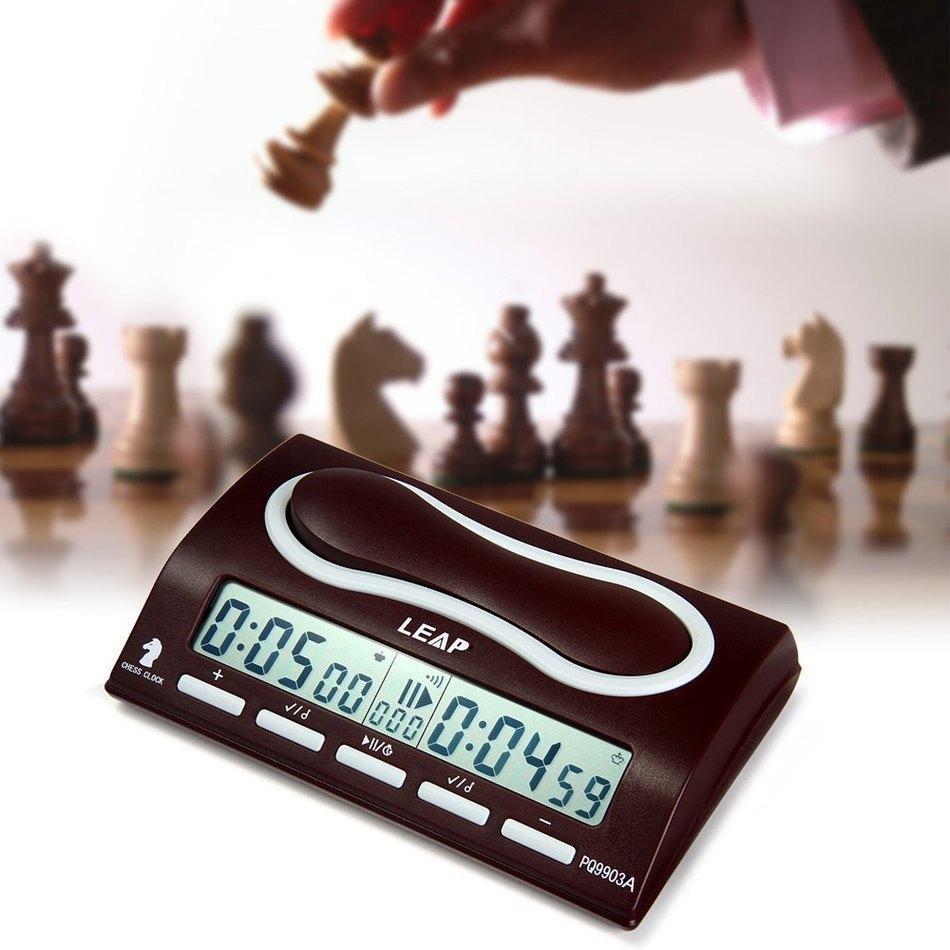 LEAP PQ9903A Multifuctional Dijital Satranç Saat Wei Chi Yukarı Aşağı Saymak Satranç Alarm Zamanlayıcı Reloj Ajedrez Temporizador Oyun Zamanlayıcı