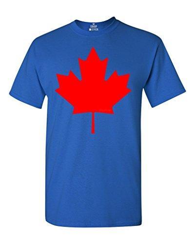 Canada Flag Leaf Mens Short Sleeve Polo Shirt Classic-Fit Blouse Sport Tee