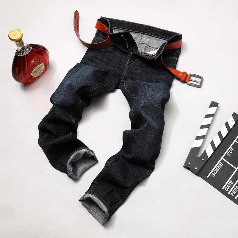 90d394b732 Compre Hombres Jeans Homme Hombres Clásico Masculina Esportiva Pantalon  Jean Moda Hombre Pantalones Slim Fit Heren Gran Tamaño Hip Hop Verano A   41.42 Del ...