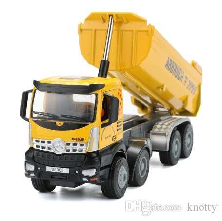 1:50 Dumper Alloy Toy Автомобильный Инженерный Автомобиль Подъемный Автомобиль Грузовик Модель Игрушки Для Коллекционных Мальчиков