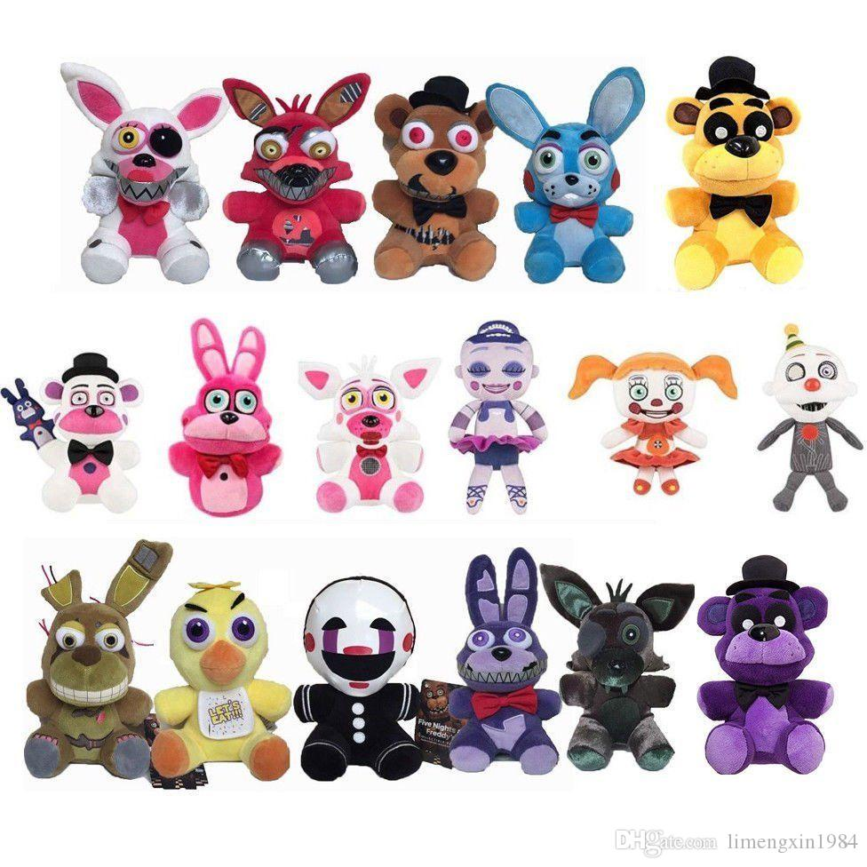 5 Nights At Freddy's Chica 2019 plush dolls five nights toy plush freddy fazbear mangle foxy chica  bonnie toys stuffed doll sister location from limengxin1984, $3.8    dhgate