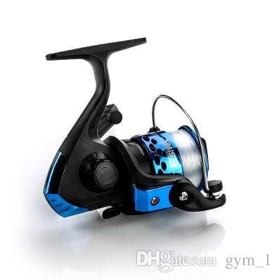 GUGUFISH 접이식 스피닝 낚시 릴 휠 스피닝 릴 패러 디 유인물 휠 베이트 캐스팅 플라잉 낚시 트롤링