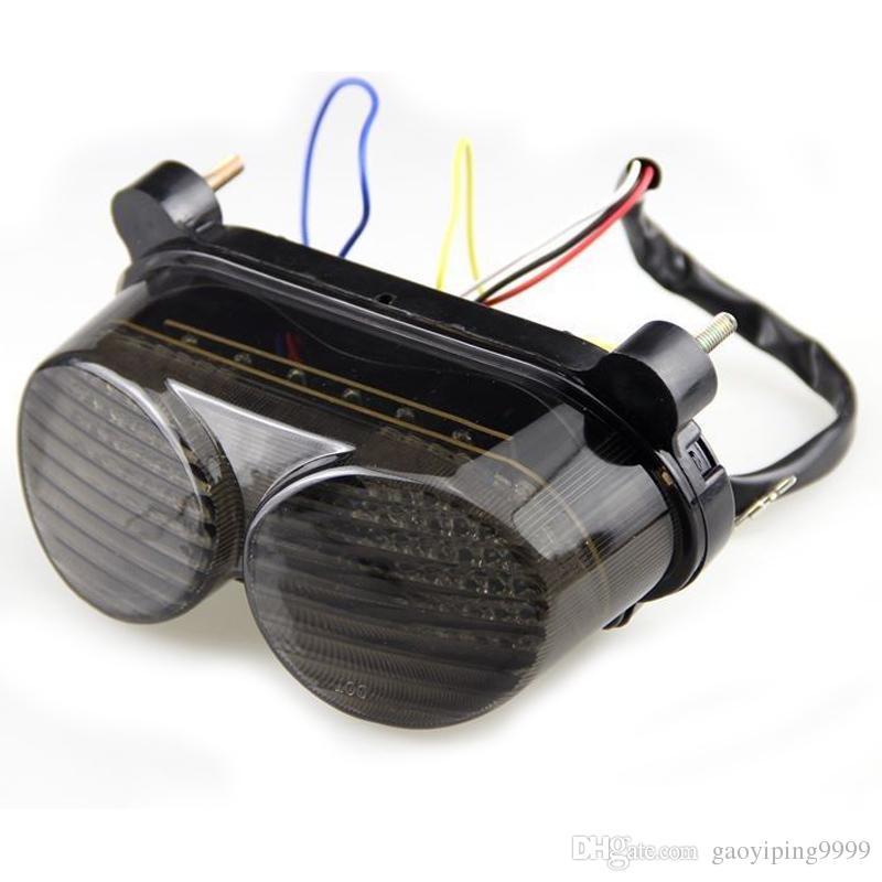 연기 LED 테일 브레이크 신호등 가와사키 ZZR600 2005-2008 ZX900 1998-2003 닌자 ZX6R 1998-2002 ZR7S 2000-2003 ZX9R 1998-2005