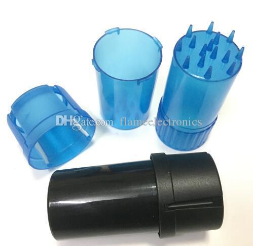 جديد البلاستيك التبغ طاحونة عشب مطحنة 40 ملليمتر قطرها 3 أجزاء أنابيب التدخين مع المطاحن كسارة الملحقات التدخين
