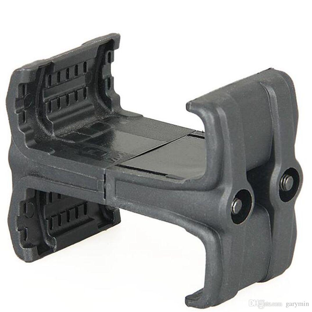 الصدرية التكتيكية محول L حجم 7.5 * 6 * 4.5cm مقطع قابل للتعديل للصيد بندقية بندقية