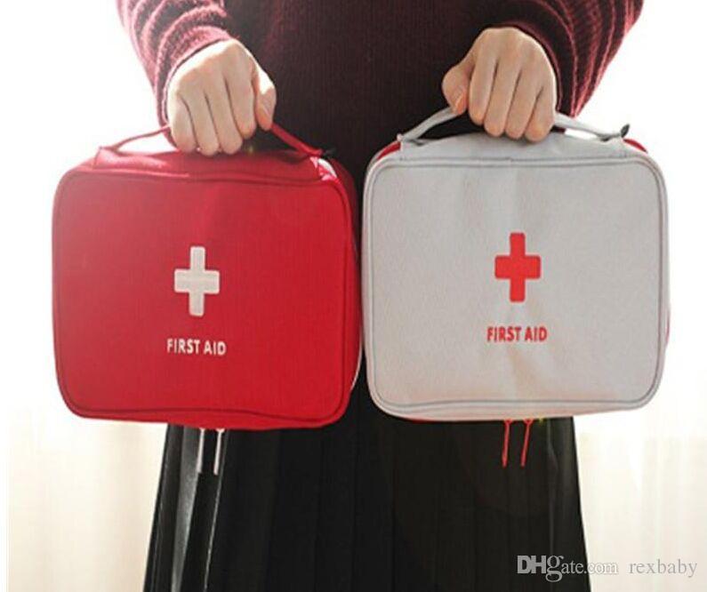 Nouveau Creative Portable Vide Sac De Premiers Soins Kit Poche Bureau À Domicile Médical D'urgence Voyage Sauvetage Cas Sac Paquet Médical