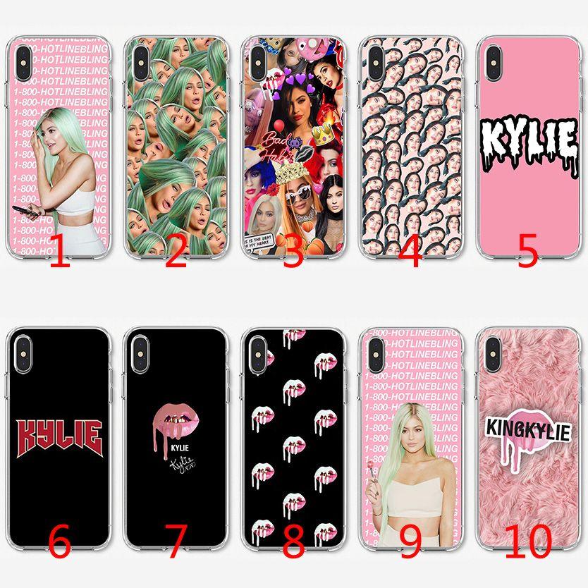 Coque TPU Kylie Jenner En Silicone Souple Pour IPhone X XS Max XR 8 7 Plus 6 6 Plus 5 5S SE Couverture Proposé Par Emmall, 1,32 € | Fr.Dhgate.Com