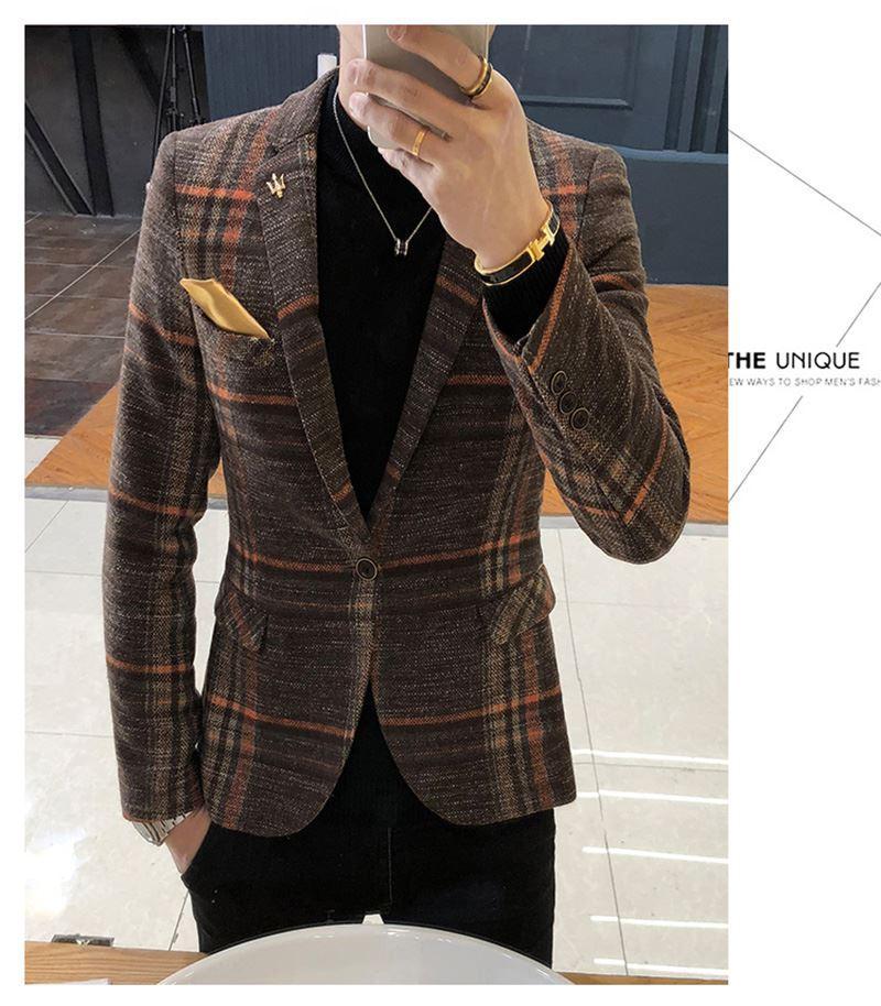 Mens Designer Blazers Jacket Suit (1)