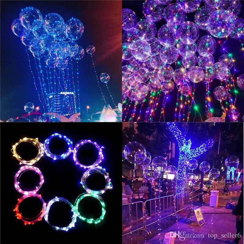 BOBO Bola Balão Luminoso LEVOU Luz Colorida Transparente BOBO Balão Festa de Aniversário De Casamento Crianças Festa Decorativa Frete Grátis 983