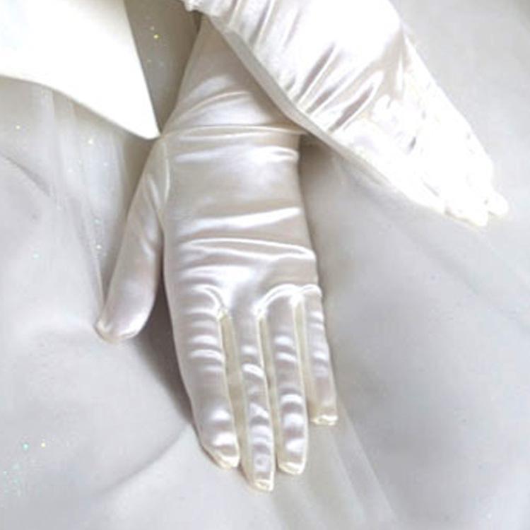 2018 Ultra Uzun Boncuklu Düğün Liturji Gelin Eldiven Ziyafet Eldiven Metre Beyaz Kırmızı Siyah