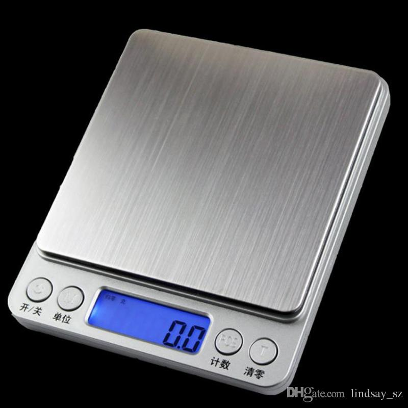 Digital Jewelry Precision Pocket Scale Weighing Scales Mini LCD Electronic Balance Weight Scales 500g 0.01g 1000g 200g 3000g
