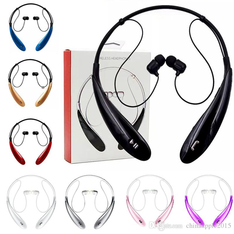 HBS800 Bluetooth Headphone Earphone For HBS800 Sports Stereo Bluetooth Wireless HBS-800 Headset For Iphone 7 8 x samsung android phone