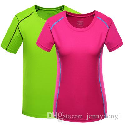 verano mutil color de alta calidad de manga corta o-cuello camiseta imprimir sportwear
