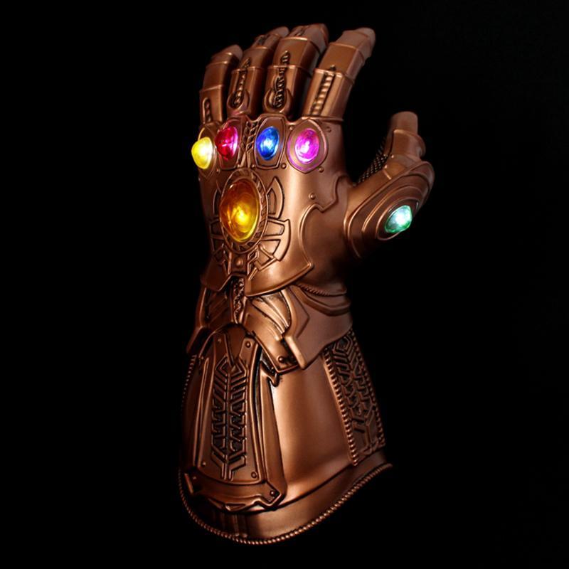 UK Thanos Infinity Gauntlet Glove Cosplay Avengers 3 Infinity War Prop Kids Gift