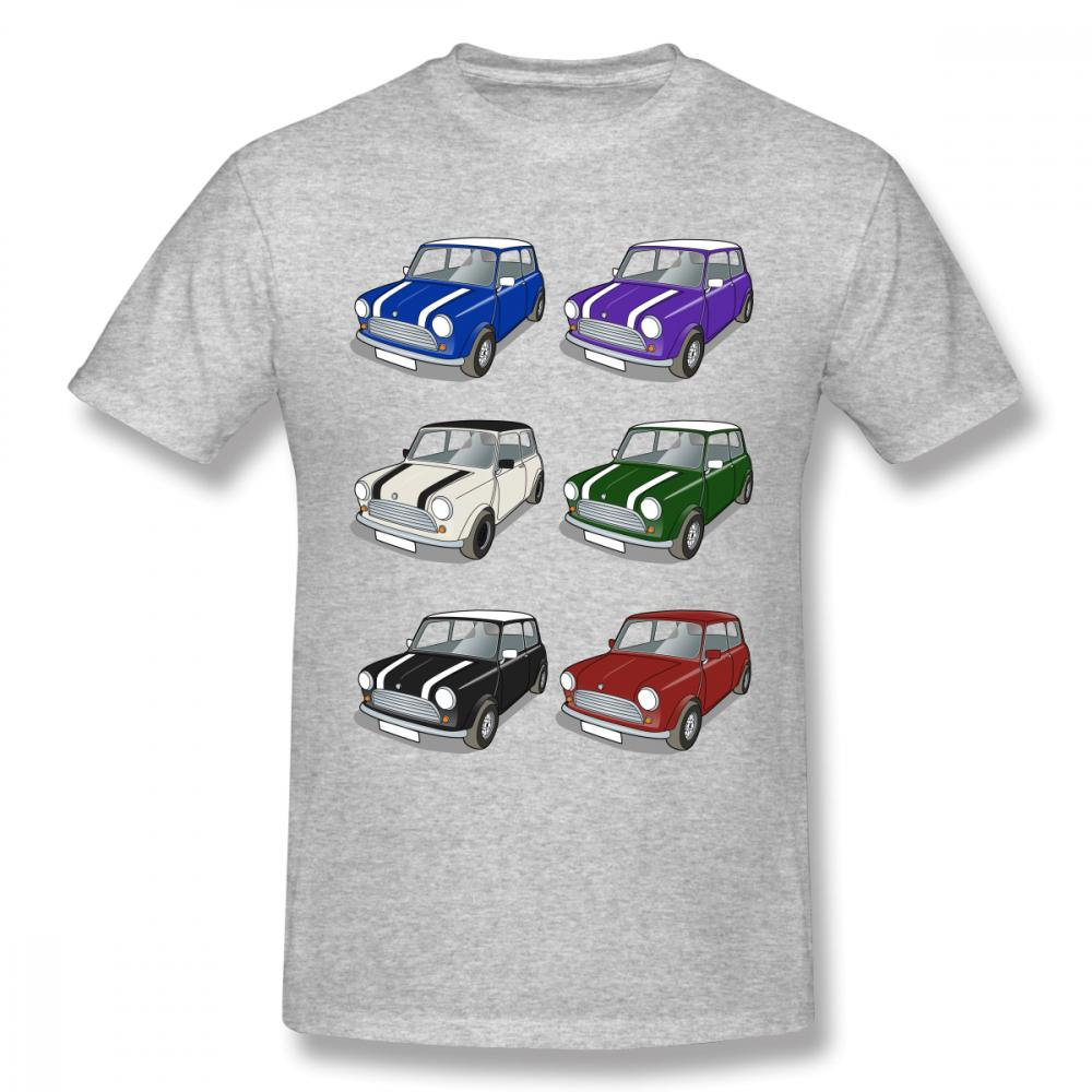 Maglietta libera di Streetwear dell'uomo di svago della maglietta di sconto R53 della mini automobile del nuovo uomini 2018 dei nuovi