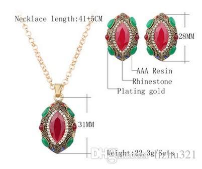 haute qualité bas prix merveilleux diamant cristal mariage ensemble collier boucles d'oreilles (15) fjkkhj