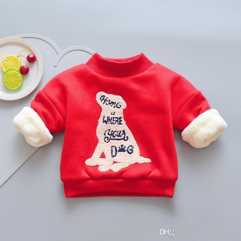 sweatshirts garçons printemps automne enfants coton vêtements chauds hoodies à manches longues pour garçons épaissir vêtements enfants