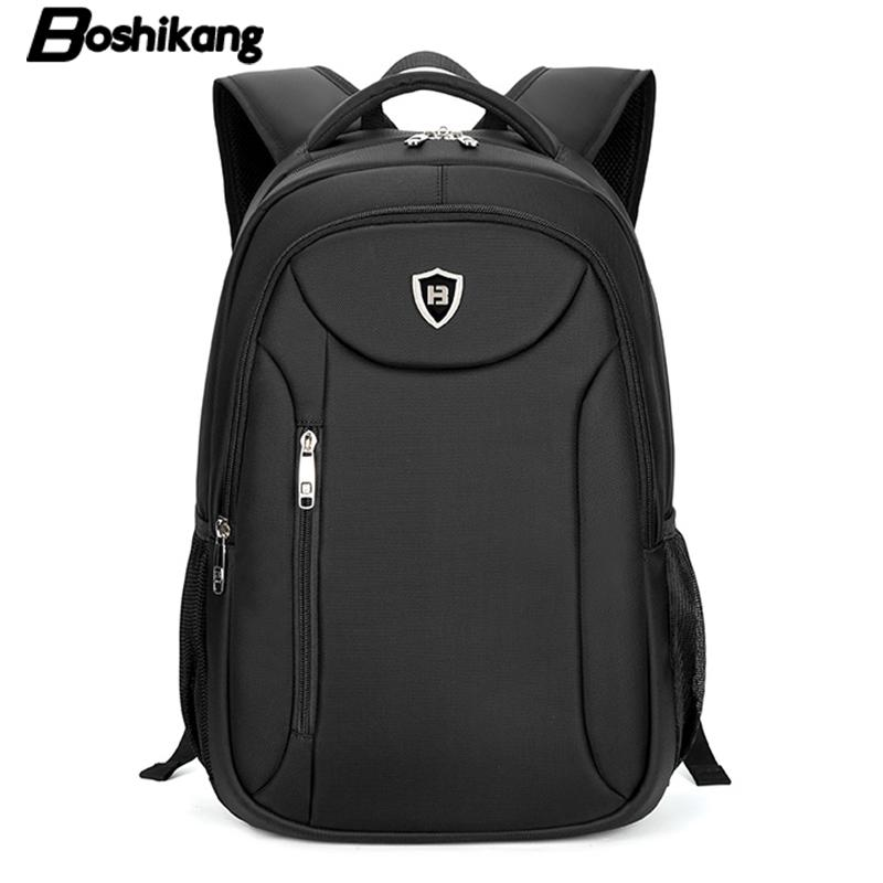 Boshikang Men Laptop Backpack 15.6 Inch Rucksack SchooL Bag Travel Backpack High Quality Oxford Male Notebook Computer Bag New