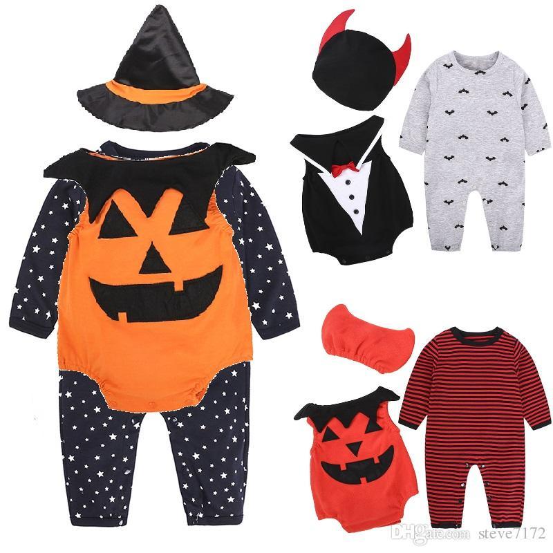 Newborn Baby Boy Infant Outfits Jumpsuit Romper Bodysuit Tuxedo Suit Clothes Set