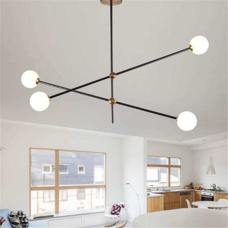 Modern LED chandelier Pendant Lights Living Room Restaurant Handing Lamps North Industrial Lighting Indoor Luminaire Suspended Lustre