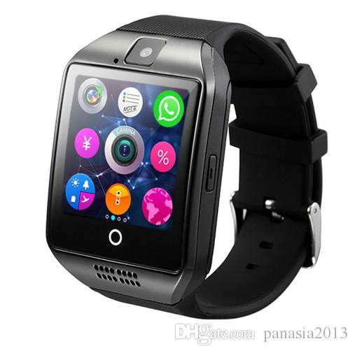 Hot selling Q18S smart watch bluetooth smartwatch camera TF Card and SIM Card Q18S Smart Watch NFC Bluetooth Compatible with IOS and Android