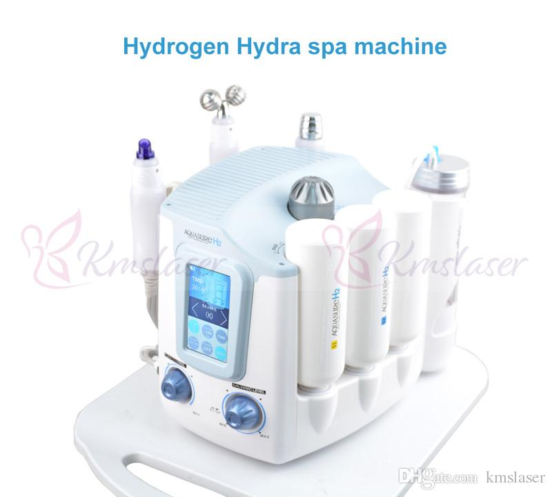 3 in 1 Hydrafacial Hydrogen Water Peeling Machine Hydro Dermabrasion BIO Lifting Ion Negative Skin Cool Facial Care Rejuvenation Equipment