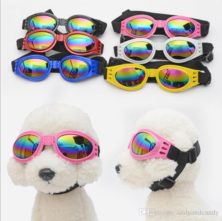الكلاب ارتداء النظارات الشمسية طوي الحيوانات الأليفة الكلب الصغير نظارات حماية العين نظارات القط نظارات صور الدعائم القطط مستلزمات الحيوانات الأليفة