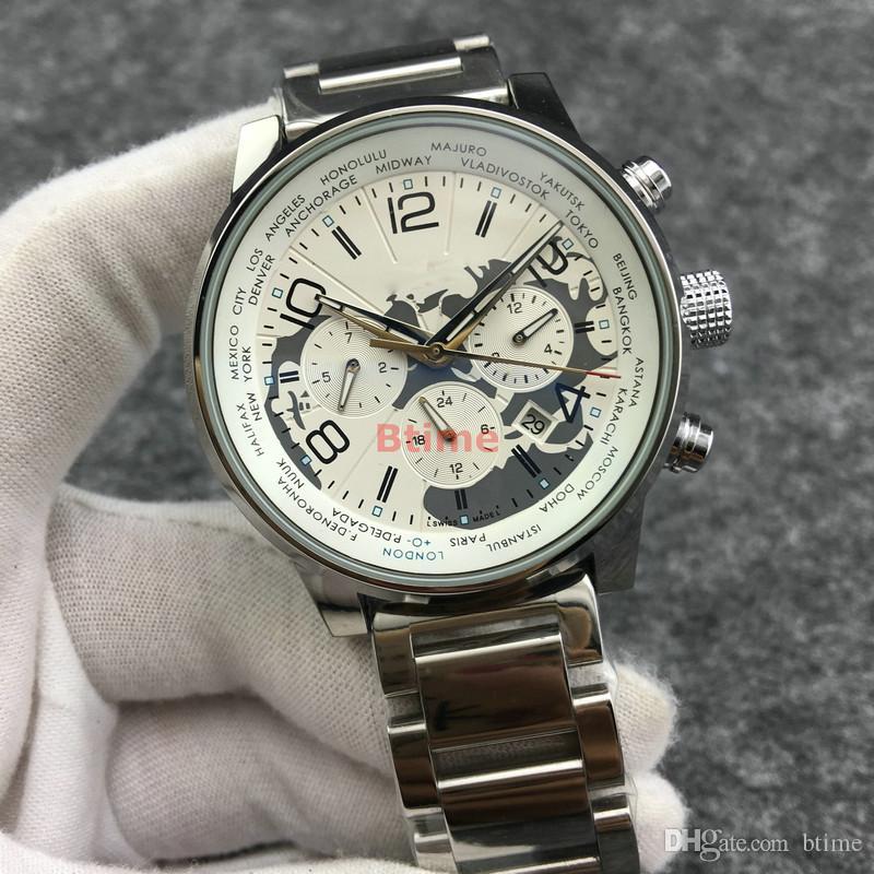 Herren Armband Mechanische Armbanduhren Top Designer Qualtiy Edelstahluhr Automatikwerk Großes Zifferblatt Sport Selbstaufzuguhren.