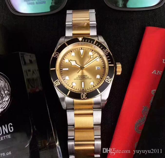 2018 человек роскошные мужские часы часы золото M79230 механизм с автоподзаводом из нержавеющей стали ремешок золотой циферблат спортивные мужские часы