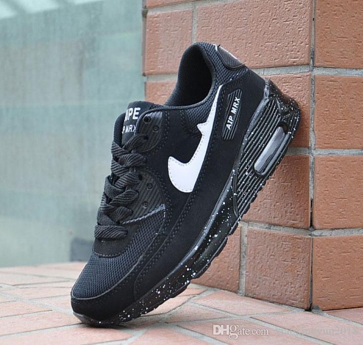 Bırak gemi 90 Yıldönümü Paketi davalar Bronz Siyah Kızılötesi Yürüyüş Ayakkabıları Erkekler Kadınlar Marka Eğitmenler Rahat Ayakkabı ...