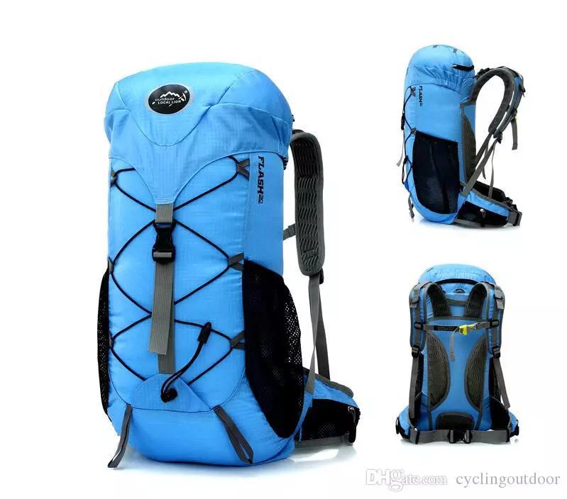 2018 Wholesale Outdoor mountain bike riding backpacks camping equipment supplies, sports outdoor backpacks bike hiking backpack Fishing