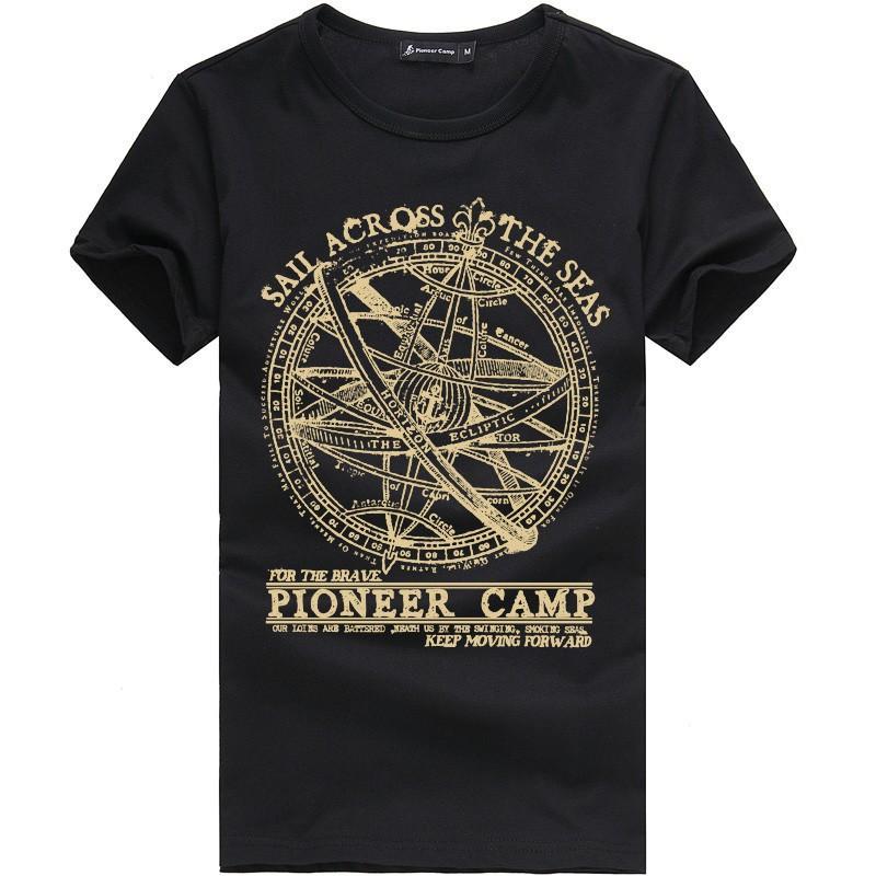 짧은 소매 T 셔츠 남성 패션 브랜드 디자인 100 %면 티셔츠 남성 품질 인쇄 티셔츠 O 목