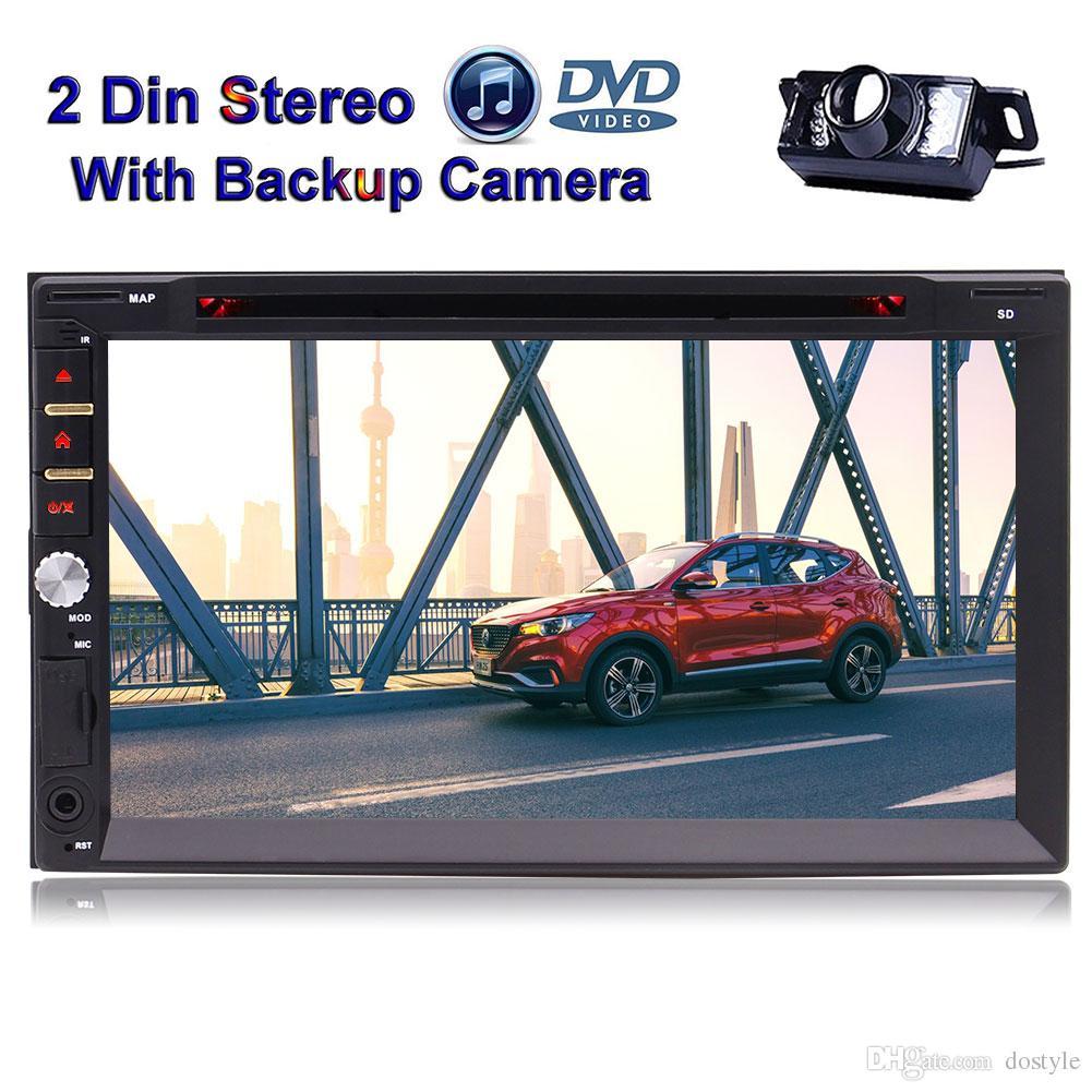 Sistema di intrattenimento Bluetooth stereo per auto doppio da 7 pollici con doppio touch screen Capacitivo FM / AM RDS USB SD Multi-UI opzionale