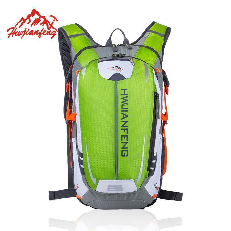 HU WAI JIAN FENG Riding Backpack MTB Outdoor Equipment 18L Suspension Breathable Outdoor Riding Bicycle Cycling Bag