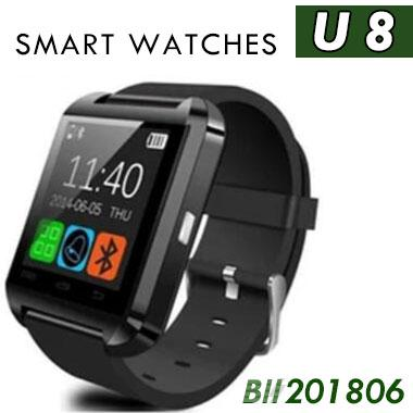 100pcs U8 Smart Watch with Touch Screen Bluetooth Smartwatch Sleeping Monitor U8 Wrist smart Watches for android IOS phone