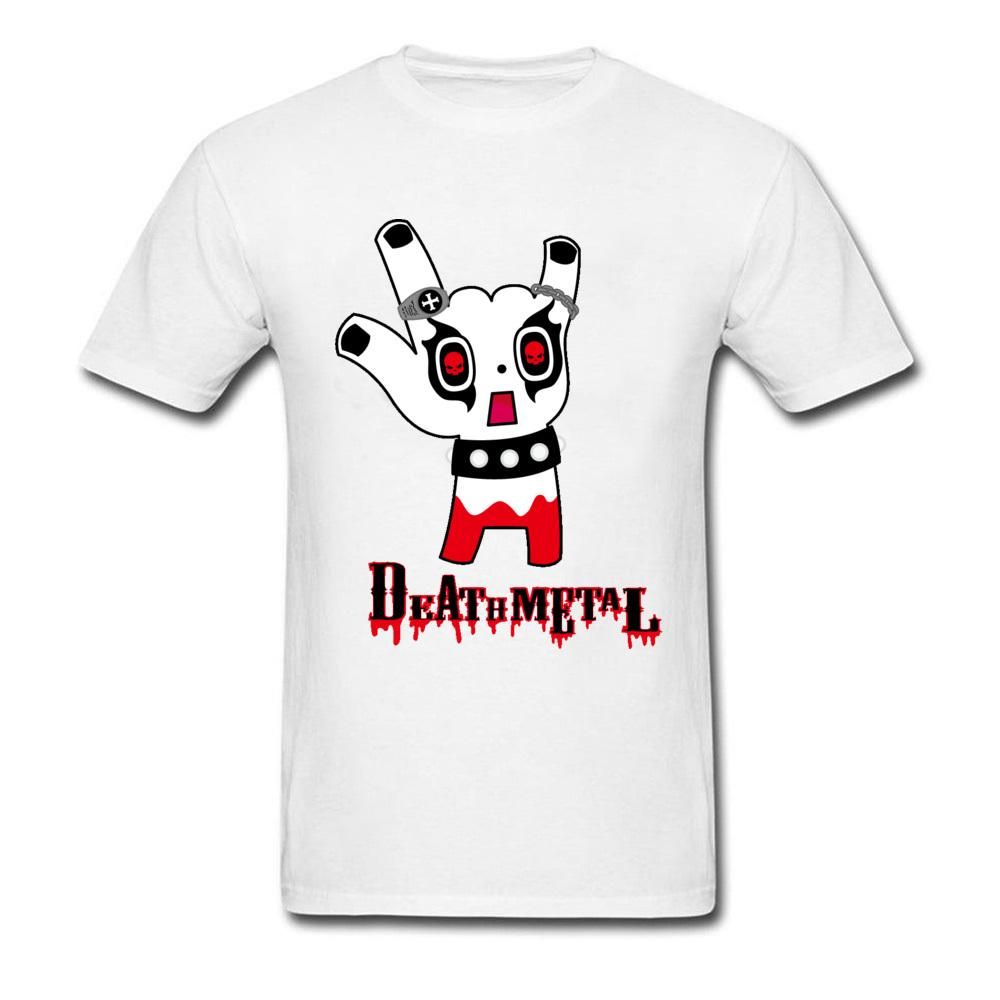 Death Metal T Shirt Unique Design Horror Middle Finger Camiseta para hombres Awesome 3D Graphic T Shirts On Sale Best Gift 2018