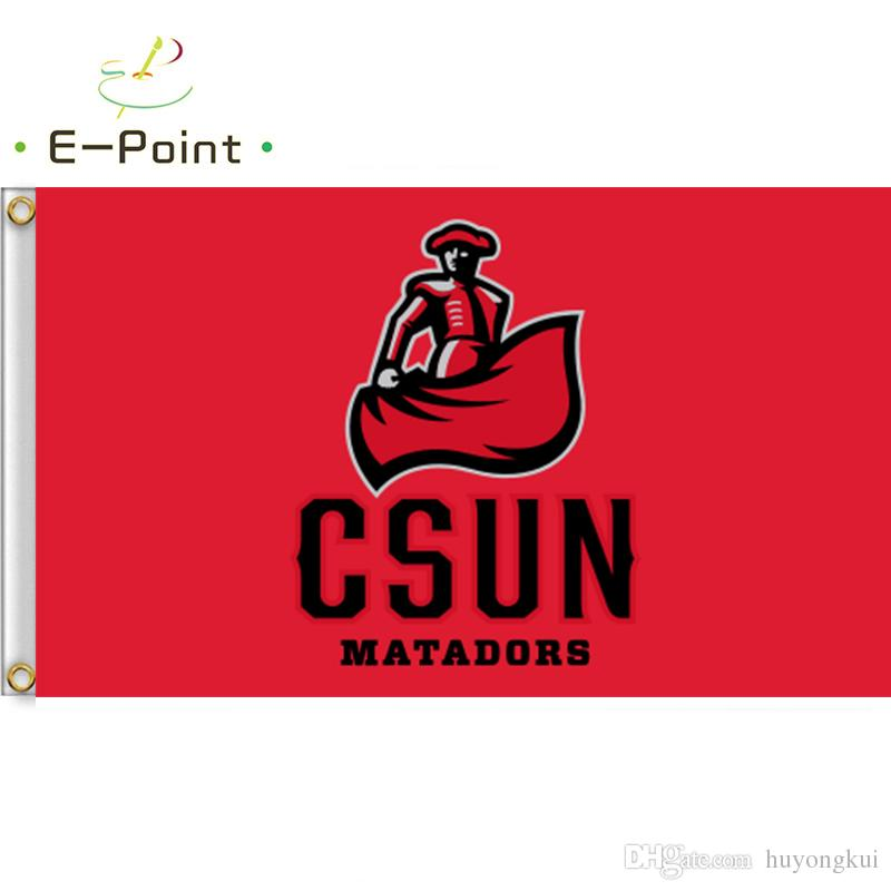 Cal State Northridge Matadors CSUN Logo Flag College Flags and Banners Co