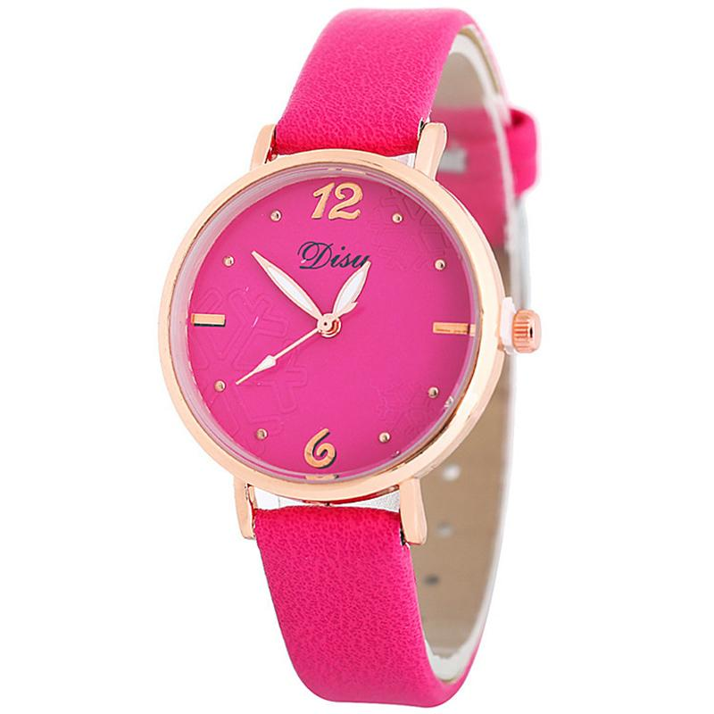 Hot Sale Women Brand Watch PU Leather Strap Watches Luxury Ladies Quartz Dress Wristwatches Clock Girls Gifts Reloj Muje