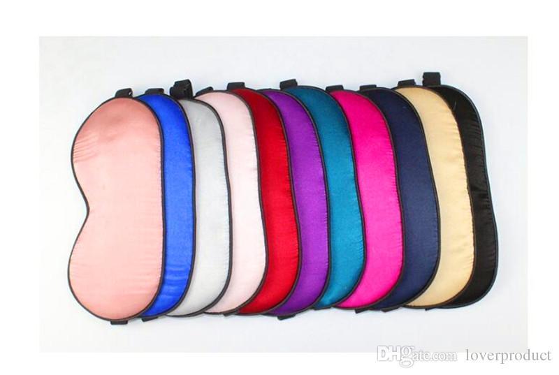 jours masque pour les yeux soie sommeil naturel masque pour les yeux de soie pure faite en Chine Notre spécialité Livraison gratuite