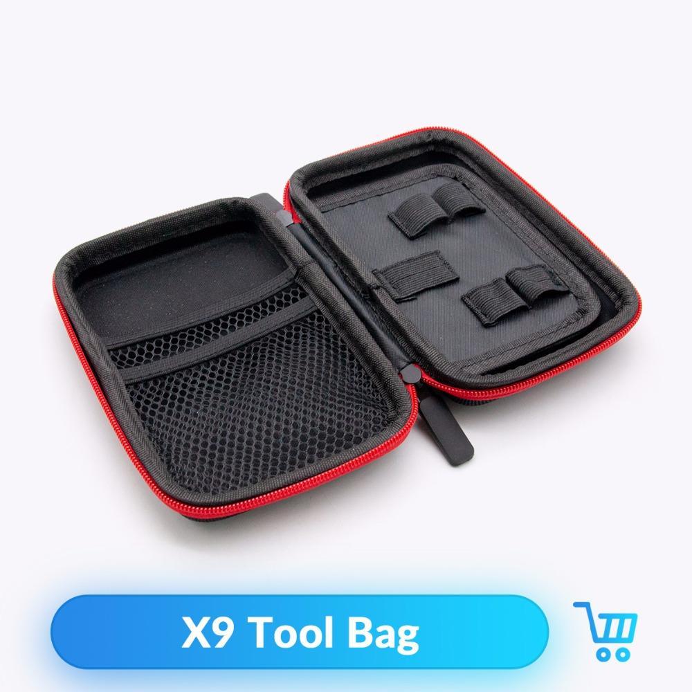 Volcanee Vape Pocket X9 двухэтажный мешок пара для электронных сигарет RTA RBA RDA Mod Kit DIY Tool сумка для переноски