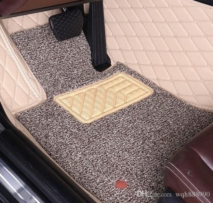 Toyota Prius için özel fit araba paspaslar / Prius Alfa / Prius + Prius C Aqua tam kapak araba-styling halı kilim lüks gömlekleri
