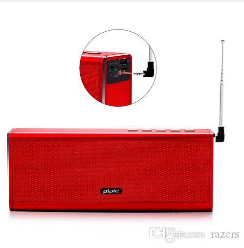 S5 bluetooth speaker banco de potência de rádio fm 20 w portátil mini speaker computador altifalante sem fio 4000 mah banco de potência para o telefone