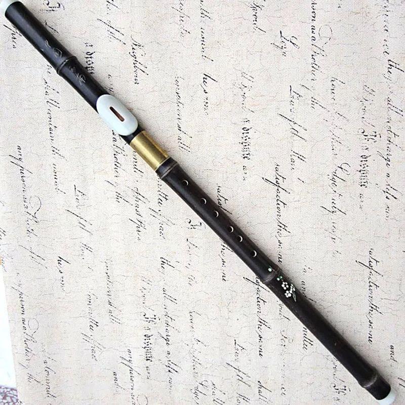 Поперечная игра Фантазия Bawu F / G Key Природный фиолетовый Bamboo Flauta Bawu Съемный Bau Folk Instrument Flauta с бесплатной доставкой