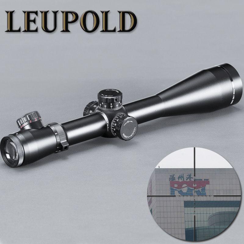 LEUPOLD M3 4-16x50 красный зеленый Dot Sight Тактические Открытый Охота Оптика Scope Illuminated красный и зеленый MilDot со стороны колеса Riflescope