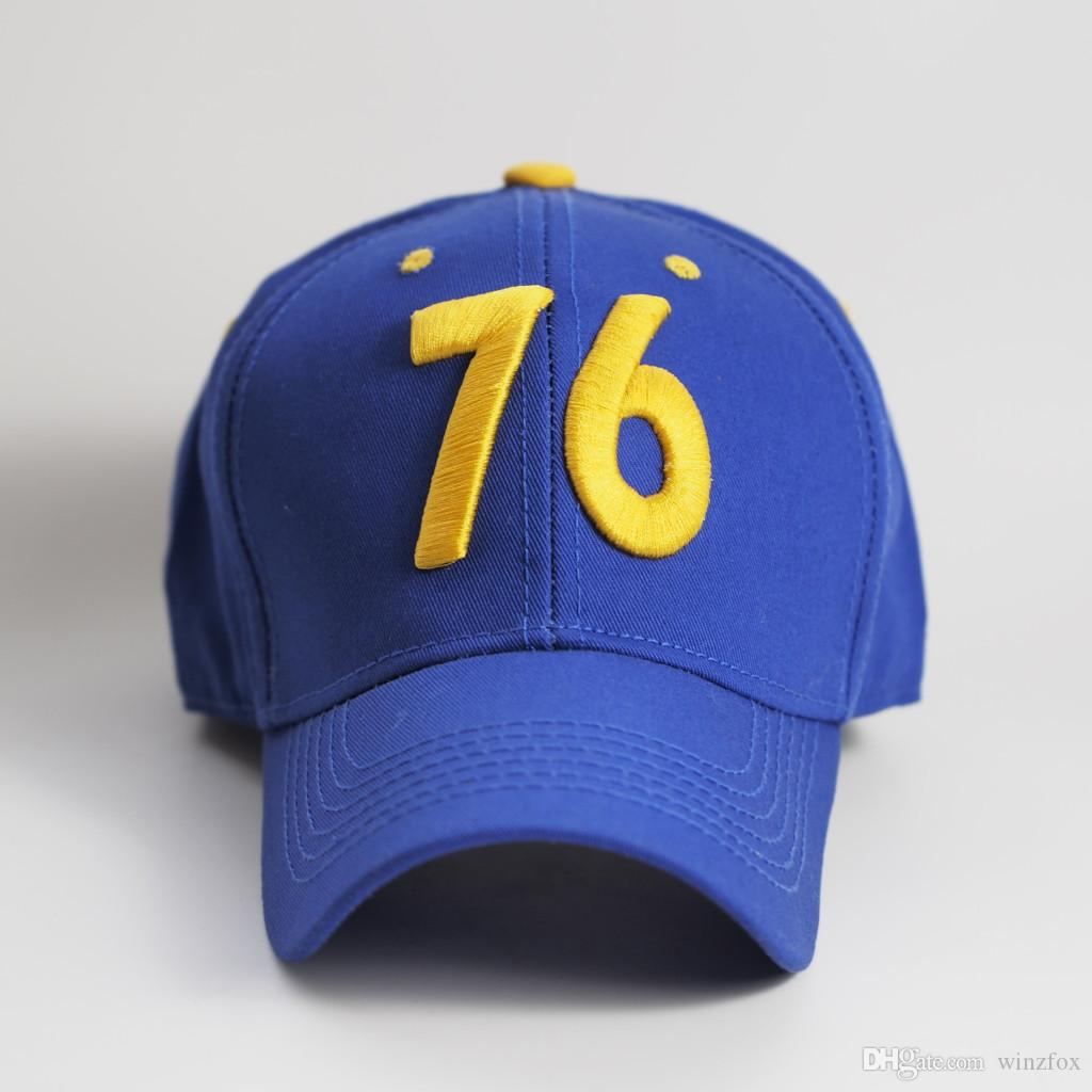 Fallout 76 Snapback Cap Logo 100 /% Baumwolle Größe verstellbar Baseball Mütze