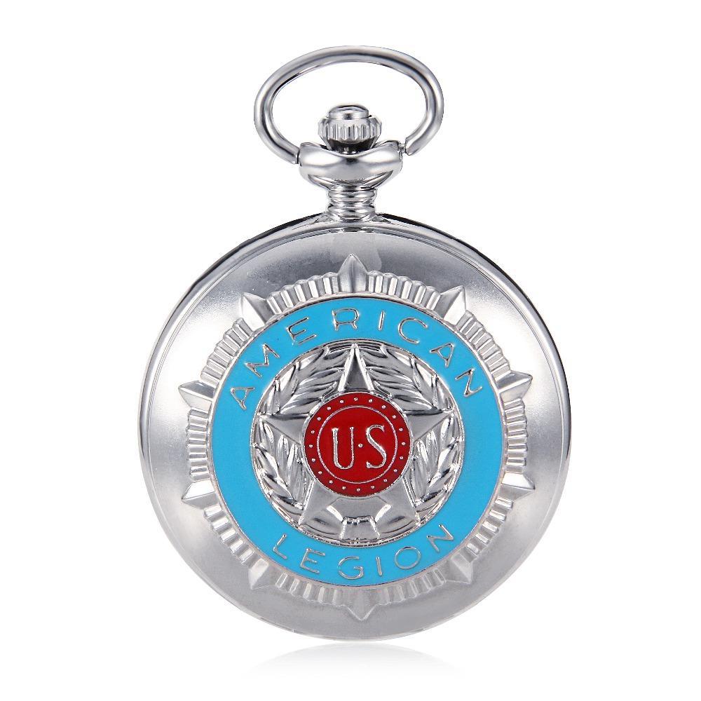 Cassa di tono d'argento di lusso stile antico mano vento numero romano quadrante meccanico orologio da tasca da donna con w / orologio Steampunk catena