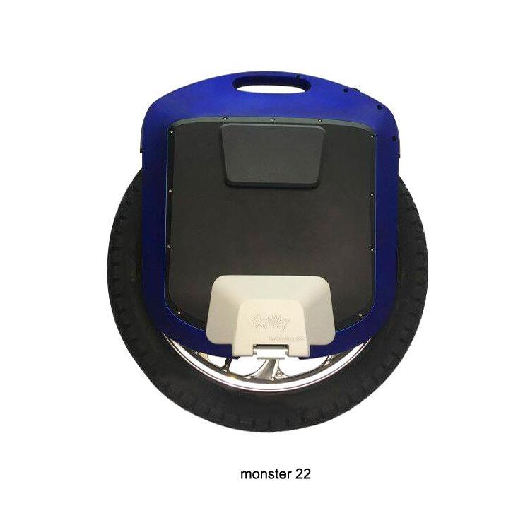 """GotWay Monster 22 """"타이탄 2400WH 전기 외발 자전거 야외 스포츠 장비, 최대 속도 55KM / H +, 배터리 수명 200KM +"""