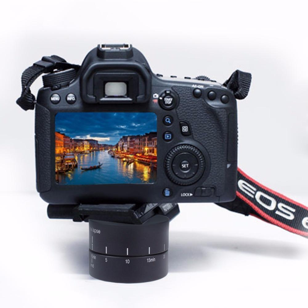Freeshipping 360 Grad Auto drehen Kamera Stativ Kopf Basis 360 TL Timelapse für Xiaoyi für Gopro Kamera SLR für iPhone andriod