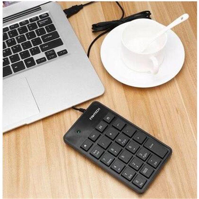 Frete grátis atacado Mini 23-Teclas USB Teclado Numérico Pad Teclado Numérico Para Notebook Laptop